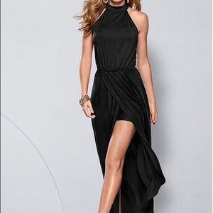 Venus Long Drape Dress
